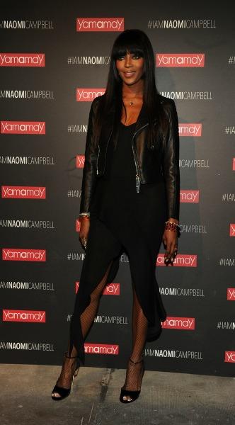 6a611a16ba7 Δείτε την εντυπωσιακή εμφάνιση της Naomi Campbell στο Μιλάνο - Μόδα ...