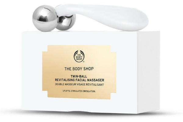 twin ball facial massager