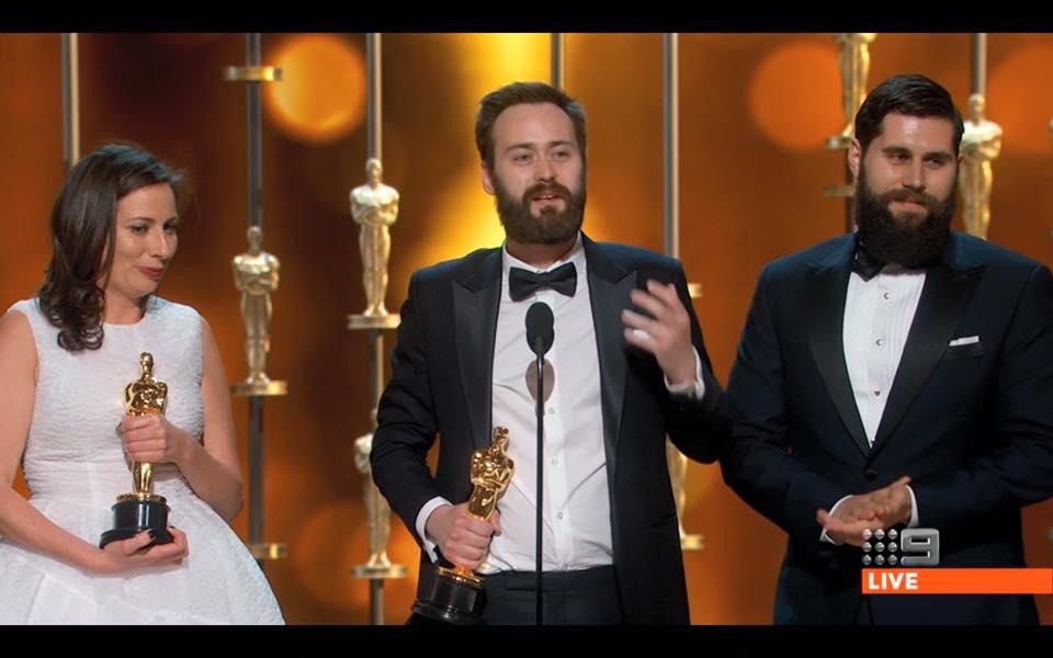 Michael Paleodimos Oscars