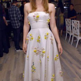 H Jessica Biel με Giambattista Valli Haute Couture