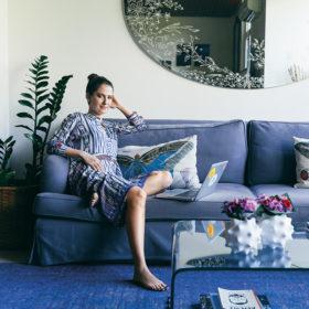 Μελίνα Πίσπα: Δείτε το υπέροχο, μοντέρνο σπίτι της σχεδιάστριας των Sun of a Beach