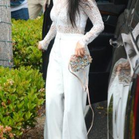 Η Kourtney Kardashian με Givenchy