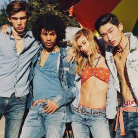 Τα super stretch jeans που θέλουμε αυτή τη σεζόν είναι Hilfiger Denim