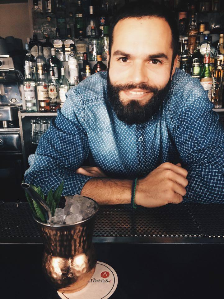 a for athens bartender
