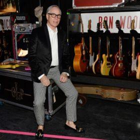 Ο Tommy Hilfiger γιορτάζει τα εγκαίνια της πρώτης διεθνούς έκθεσης των Rolling Stones στο Λονδίνο