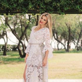Τόνια Φουσέκη: Αυτή είναι η Ελληνίδα πάνω στις αναλογίες της οποίας έραβε τα ρούχα του ο Valentino