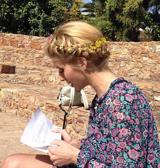 evagelia aravani, braids, plexidam mallia, hair