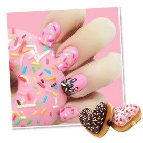 Doughnut Nails: Το πιο yummy μανικιούρ κατακτά το Instagram και θα σας ανοίξει την όρεξη