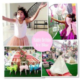 Η μικρή Blue Ivy έγινε τεσσάρων χρονών: Δείτε το παραμυθένιο πάρτι γενεθλίων της