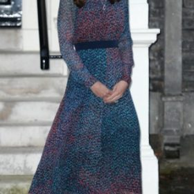 H Kate Middleton με L. K. Bennett