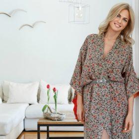 Χριστίνα Κοντοβά: Η σχεδιάστρια ρούχων μας ανοίγει το υπέροχο σπίτι της κάτω από την Ακρόπολη