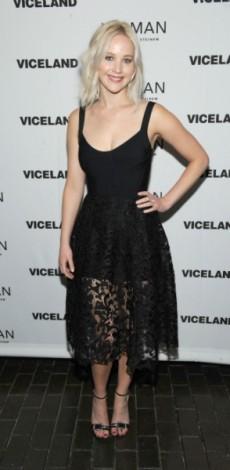 jennifer lawrence, New York Premiere Screening Of Gloria Steinem's 'Woman', mosaic, oscar de la renta, look of the day