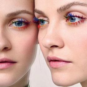 Rainbow Lashes: Εσείς θα τολμούσατε να δοκιμάσετε αυτό το trend στις βλεφαρίδες σας;