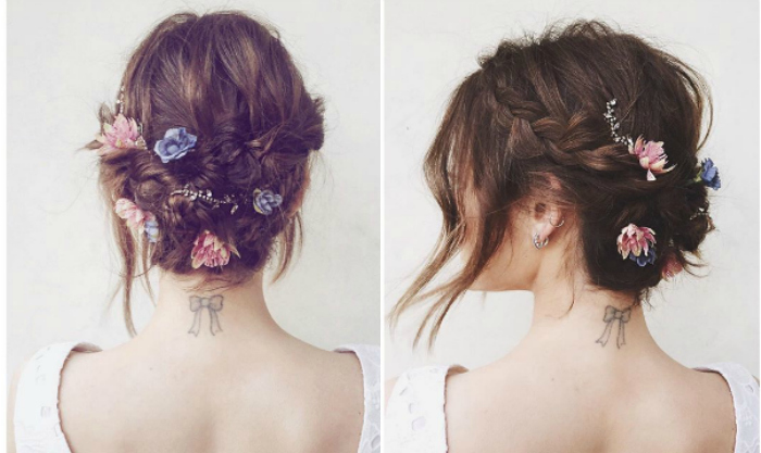 braids louloudia updo lucy hale