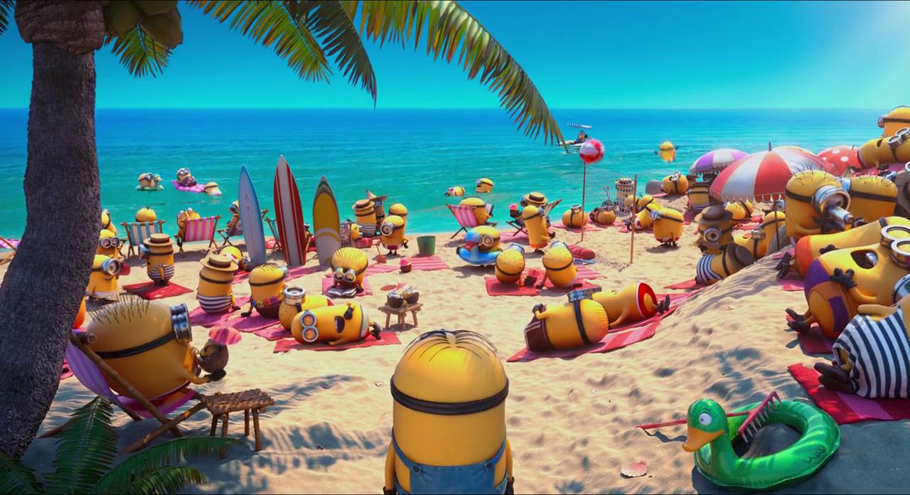 minions beach
