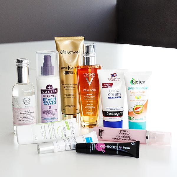 shelfies, beauty products