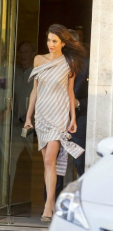 amal clooney, monse, look of the day, mosaic