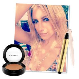 Ο makeup artist Παντελής Τουτουντζής μας αποκάλυψε όλες τις λεπτομέρειες για αυτό το υπέροχο μακιγιάζ της Ευαγγελίας Αραβανή
