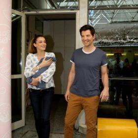 Ρουβάς-Ζυγούλη: Στο νοσοκομείο με το νεογέννητο μωρό τους