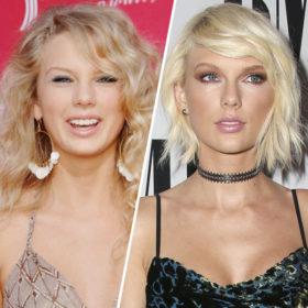 H Taylor Swift και η beauty μεταμόρφωσή της από το 2006 μέχρι σήμερα