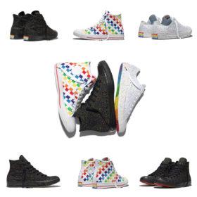 Αυτή η πολύχρωμη συλλογή της Converse για το Pride θα γίνει ένα με τα πόδια σας όλο το καλοκαίρι