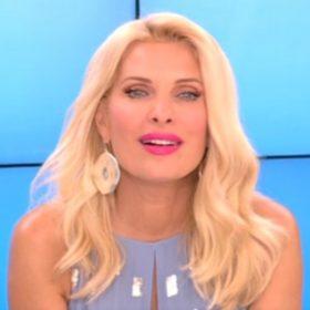 Ελένη Μενεγάκη-Μάκης Παντζόπουλος: Στο σκάφος για Κουφονήσια με τη μικρή Μαρίνα και το Θοδωρή Μισόκαλο