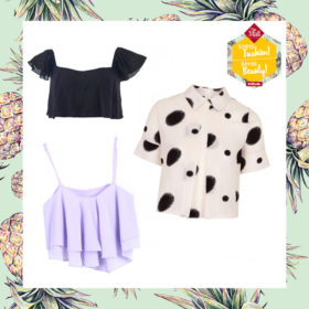 Ανανεώστε τώρα το χτένισμα σας και μάθετε τα πάντα για crop tops τώρα στo «Summer Fashion! Summer Beauty!» event του InStyle στο The Mall Athens