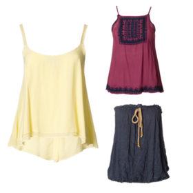 Shop it! Όλα τα καλοκαιρινά tops που είναι απαραίτητα για τα looks σας είναι στη νέα συλλογή της attrattivo