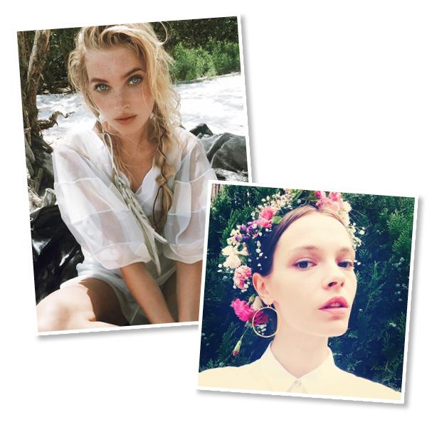 model hair summer