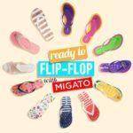 flip flop migato, homepage image