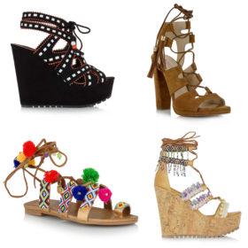 Boho queen: Εννέα ζευγάρια παπούτσια που πρέπει να έχει κάθε γυναίκα που αγαπά το bohemian look