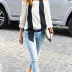 olivia palermo, look of the day, mosaic, black orchid