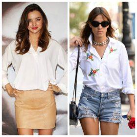How to: 7 τρόποι για να φορέσετε το λευκό πουκάμισο
