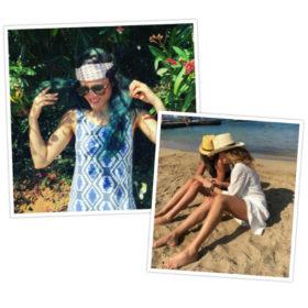 5 ελληνίδες celebrities μας δίνουν ιδέες για super cool μαλλιά στην παραλία