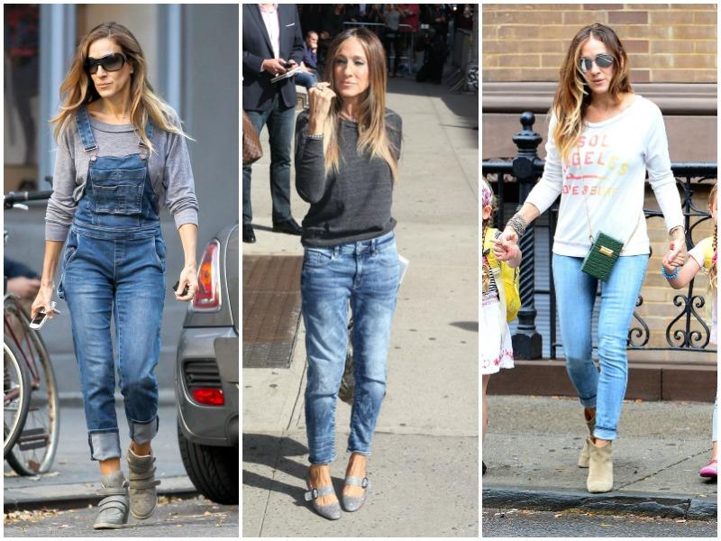 sarah jessica parker, jeans