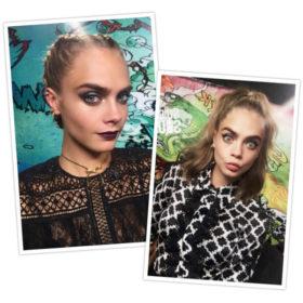 Lob Queen: Η Cara Delevingne μας δίνει 5 ιδέες για χτενίσματα σε μαλλιά με μακρύ καρέ