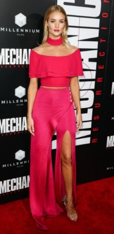 mosaic, look of the day, rosie huntington whiteley, 'Mechanic: Resurrection