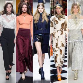 Fashion report: Αυτές είναι οι μεγαλύτερες τάσεις για το φθινόπωρο του 2016