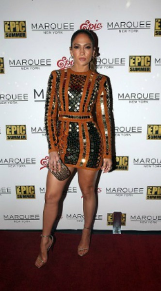 jennifer lopez, marquee, mosaic, look of the day, Balmain