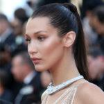 bella hadid, homepage image, ponytail, contouring