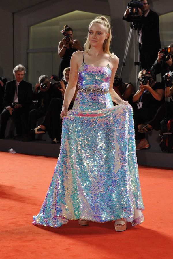 Dakota Fanning attends at Premiere BRIMSTONE
