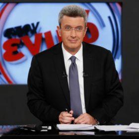 Είναι επίσημο: Ο Νίκος Χατζηνικολάου στην παρουσίαση του κεντρικού δελτίου ειδήσεων του ΑΝΤ1