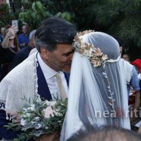 Μαρία Τζομπανάκη: Δείτε τις υπέροχες φωτογραφίες από το γάμο της ηθοποιού