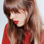 αφέλειες, bangs, afeleies, red-lipstick-red-lips-kokkina-xeili-kragion