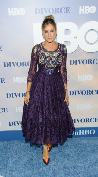 sarah jessica parker, mosaic, look of the day, divorce,premiera