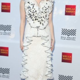 H Emma Stone με Rodarte