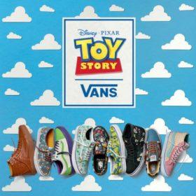 Vans X Toy Story: Δείτε τα sneakers που θα ξυπνήσουν τις πιο ωραίες αναμνήσεις από τα παιδικά σας χρόνια