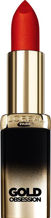 gold obsession loreal paris rouge