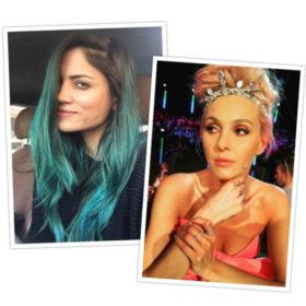 7 διάσημες Ελληνίδες που τόλμησαν να βάψουν τα μαλλιά τους σε έντονα χρώματα!