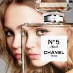 chanel no 5, lily rose depp